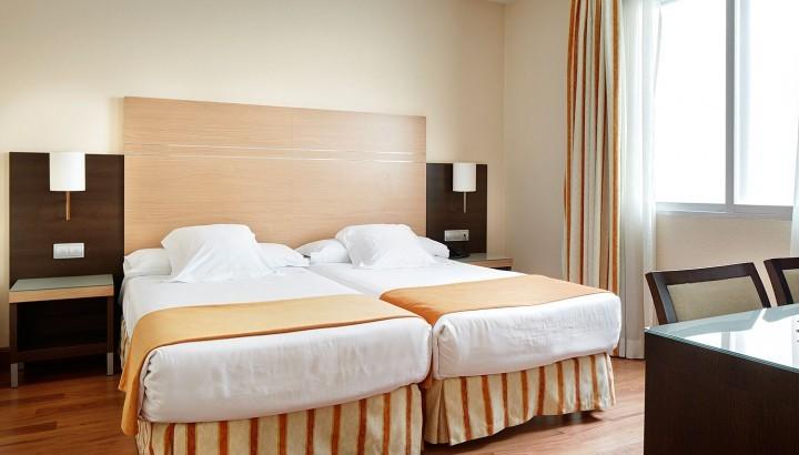 Habitacion Interior, Hotel Blanca de Navarra